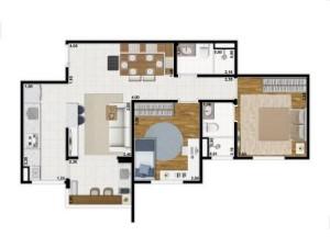 Yes Planta 58 m2